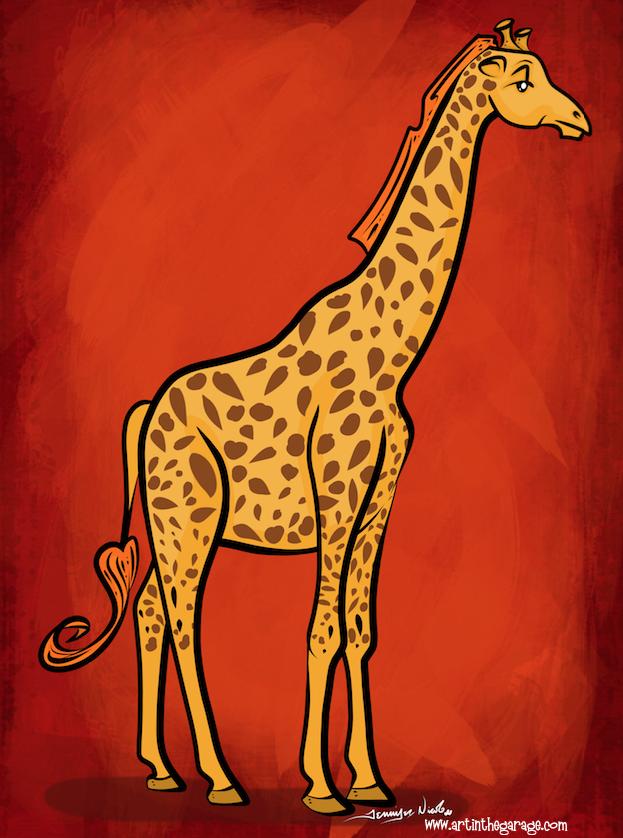 4-26-16 Giraffe