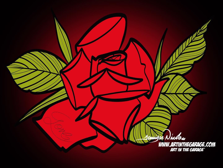 8-23-20 Simple Rose
