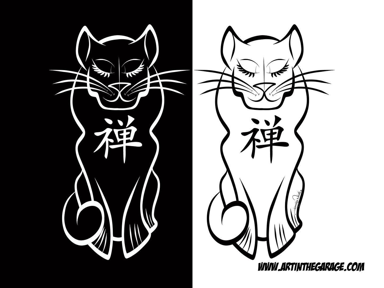 6-30-20 Zen Kitty