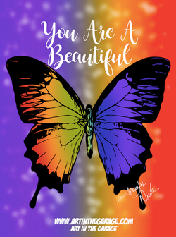 7-13-21 You Are A Beautiful Butterfly