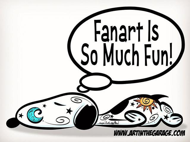 7-7-18 Snoopy Fanart