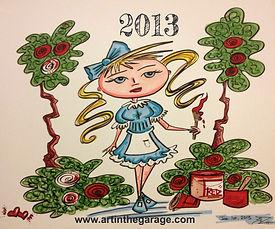 2013 ArtTrek by Jennifer Nicole Art In The Garage