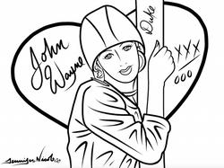 2-9-15 Lucy Loves John Wayne Forever