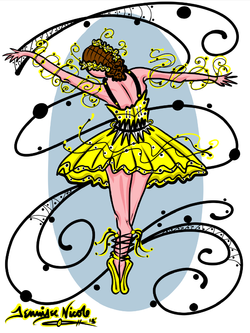 3-9-1 3Bumble Bee Ballerina