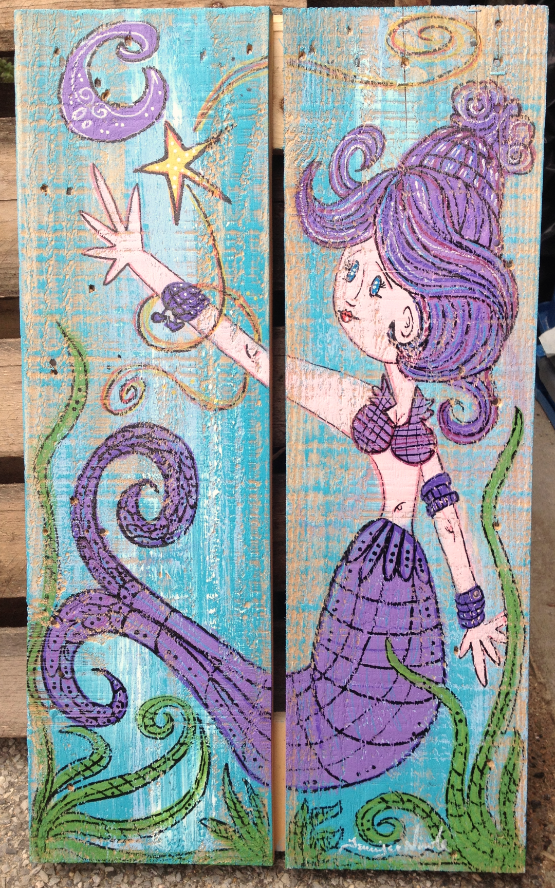 Mermaid Large Artwork