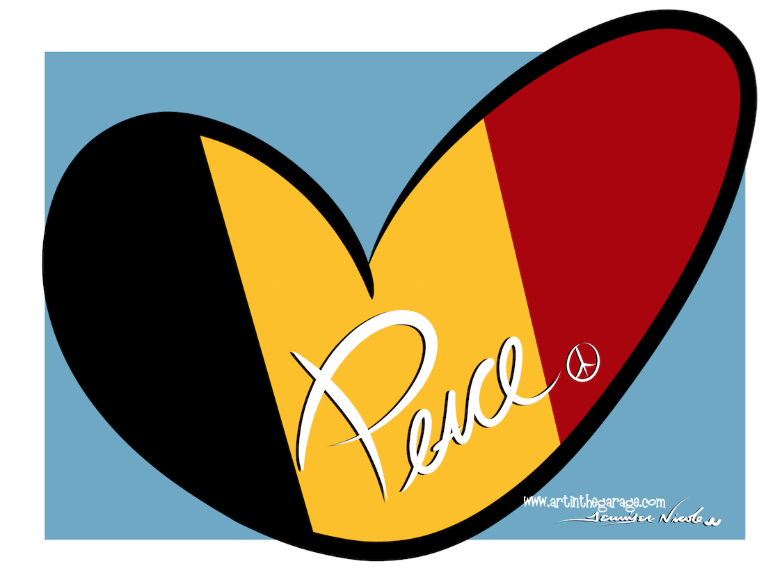 3-23-16 Peace For Belgium