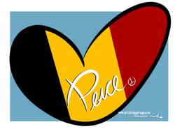 3-23-16 Peace For Belgium