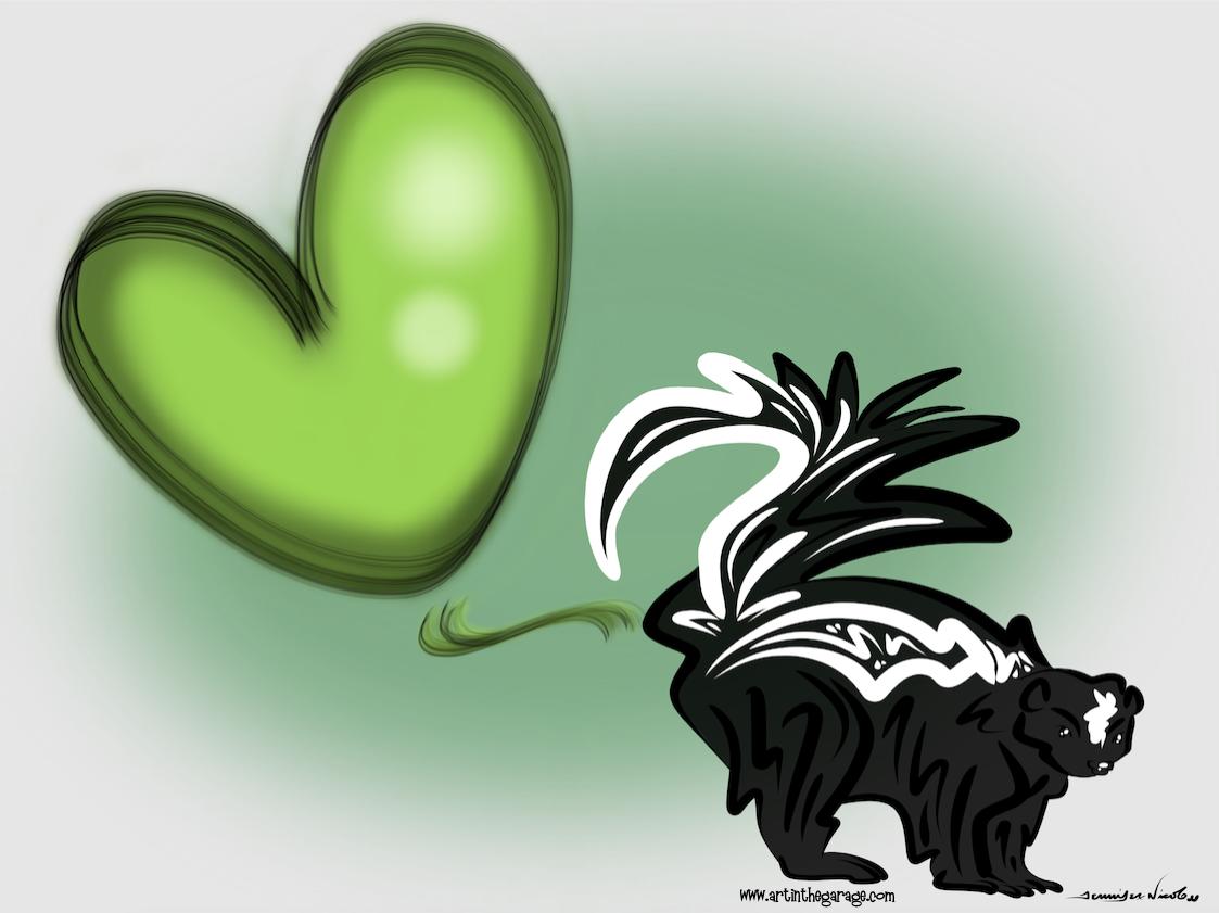 4-23-16 Skunk Love