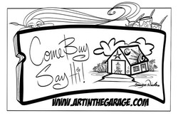 4-26-19 Art In The Garage_ Come Buy Say