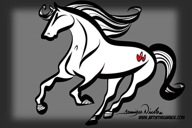 1-27-19 The Amazing Running Horse