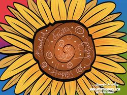 7-9-21 Pretty Sunflower