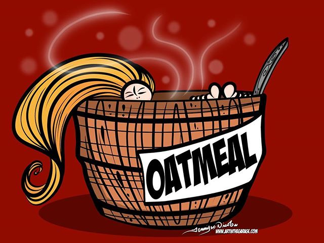 7-3-17 Ah Oatmeal Baths