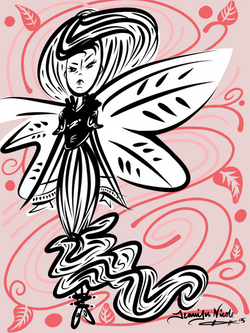 2-13-13 Butterfly Gal