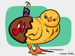 3-22-16 Happy Birthday Chickadee