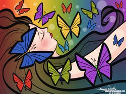 7-29-21 Butterfly Lady