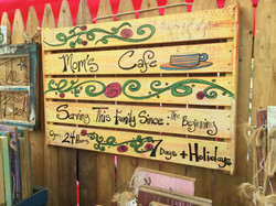 Recycled Crate Signs