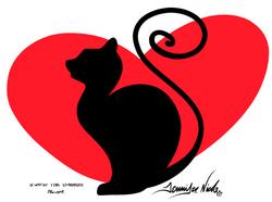 11-21-15 Black Cat Clipart