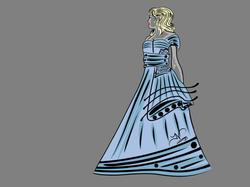 5-27-13 Woman In Dress