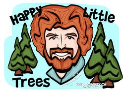 5-19-21 Bob Ross Happy Little Trees