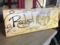 Custom Sign Made On the Spot At Show