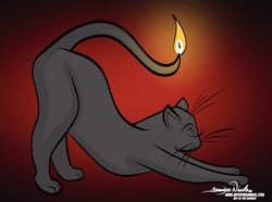 2-15-21 Kitty Candle