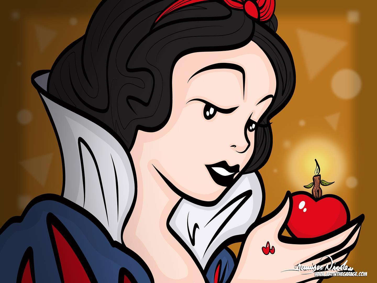 1-9-21 Happy Birthday Snow White