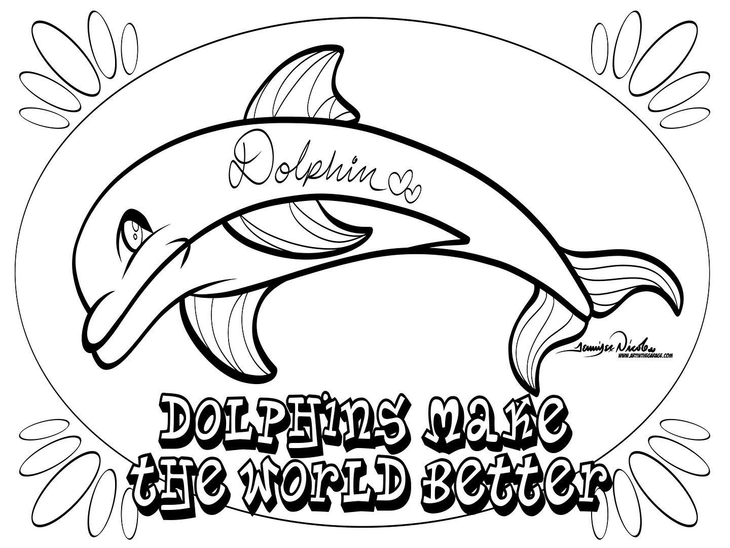 3-23-20 Dolphins Make The World Better