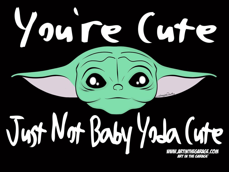 7-25-20 Baby Yoda Cute