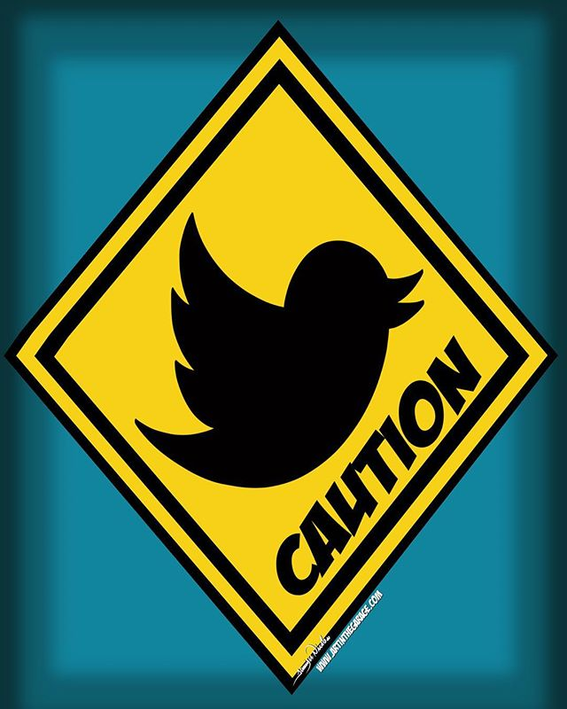 5-30-18 Caution When Tweeting.