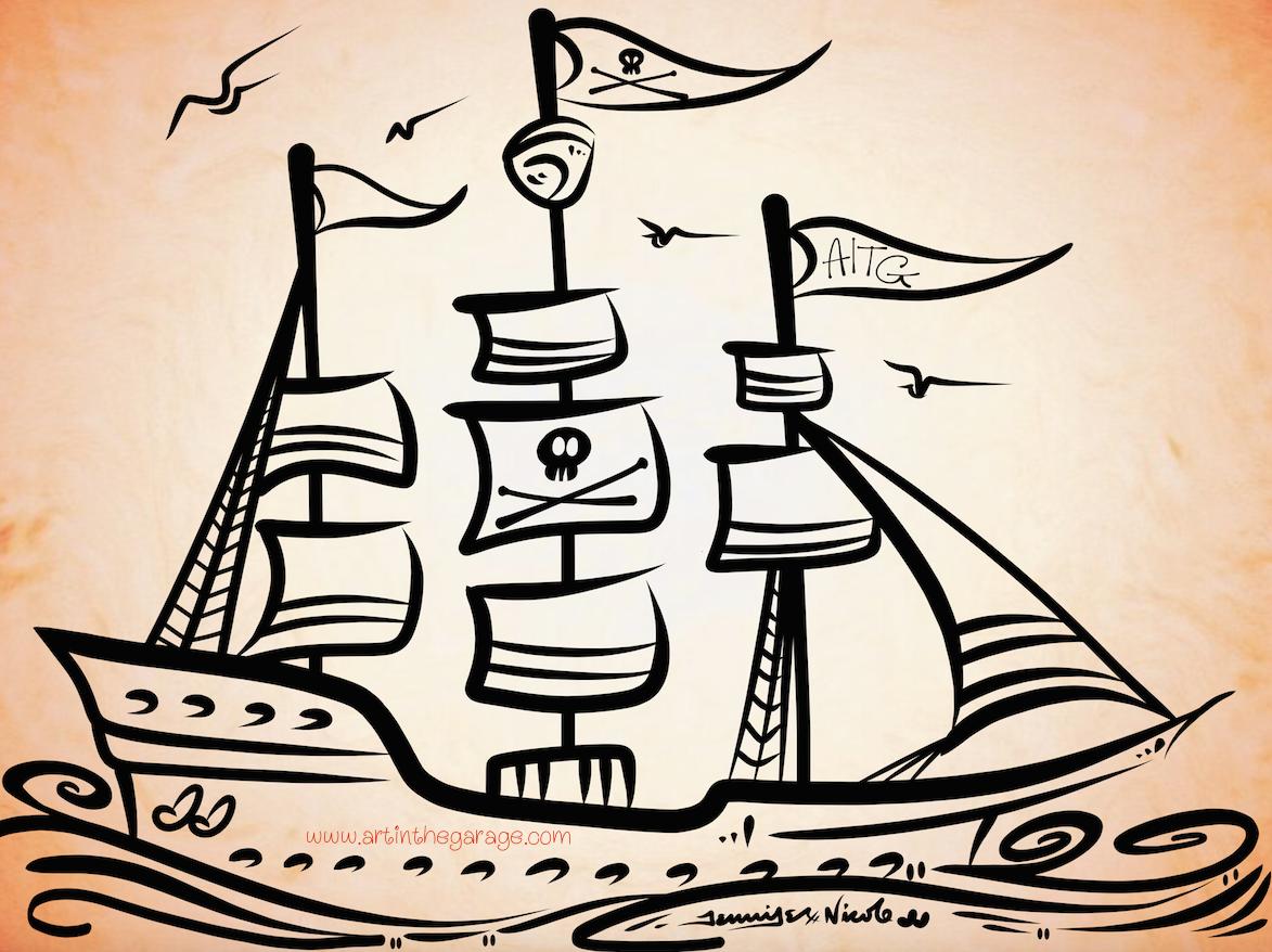 6-16-15 Pirate Ship AITG