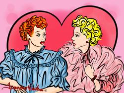 12-12-13 Lucy & Ethel