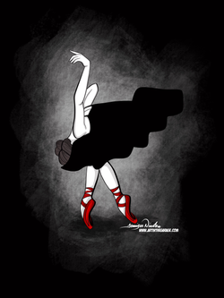 12-19-19 Ballerina With Red Shoes