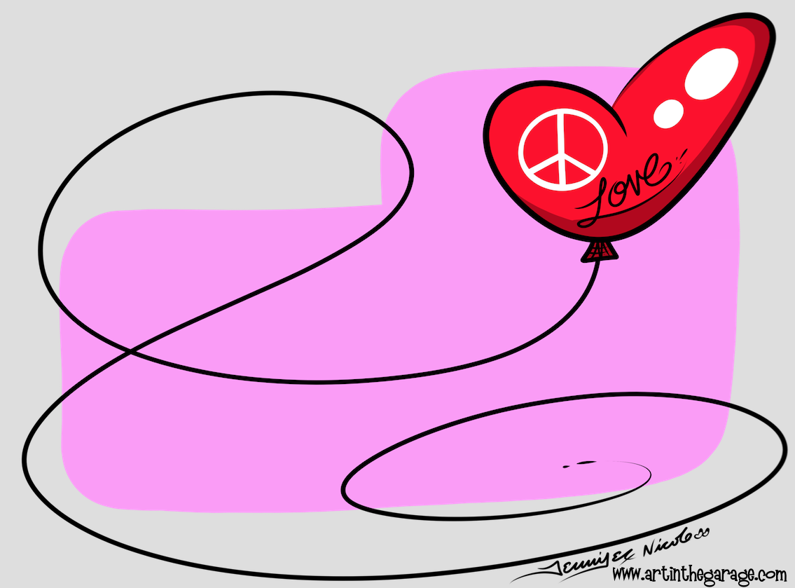 12-3-15 Love & Peace Balloon