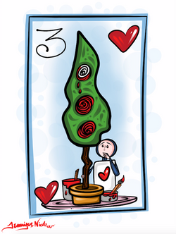 2-6-15 Painting The Roses Red Wonderland Card