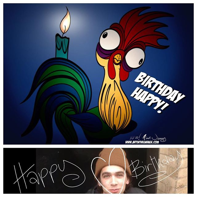 10-17-17 Hei Hei It's Your Birthday