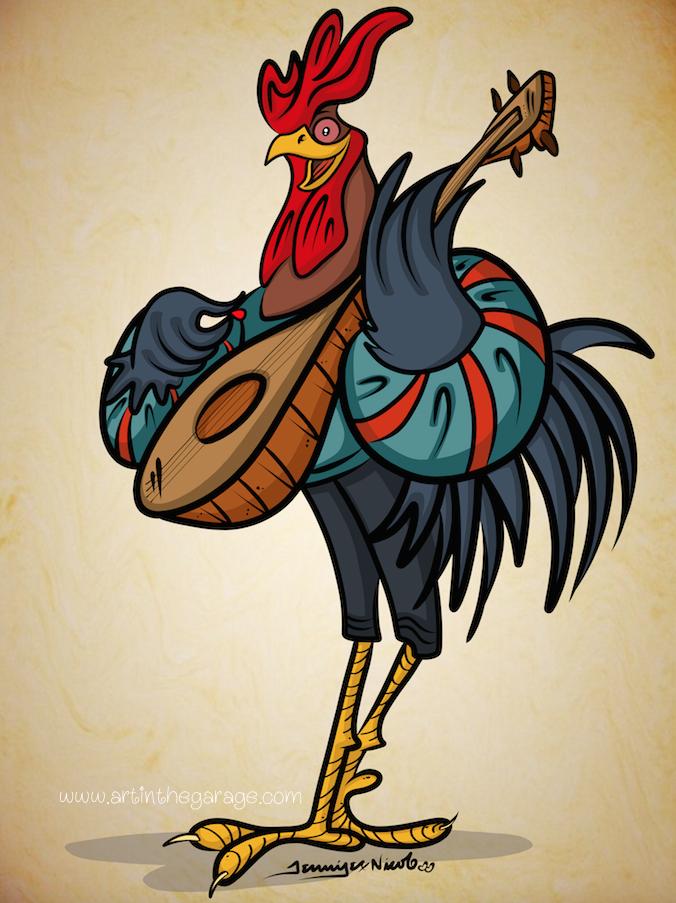 5-31-15 Rooster Minstrel Finished