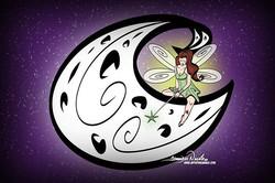 10-6-19 Fairy & The Moon