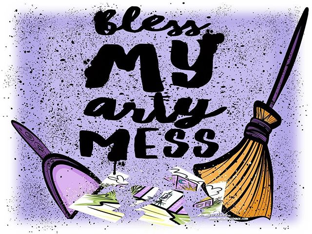 5-16-18 Bless My Arty Mess