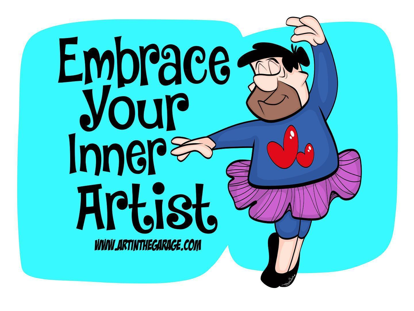 5-27-20 Embrace your Inner Artist Fred F