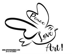 6-22-21 Peace Love Art