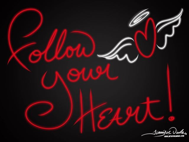 11-20-17 Follow Your Heart Today's fun (but fast) Daily