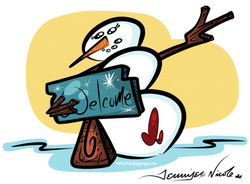 2-9-16 Snowman Welcome