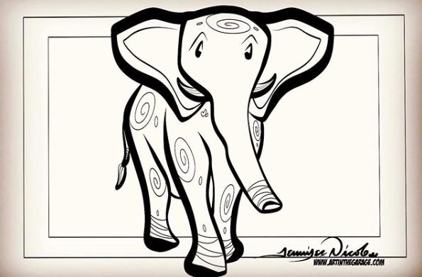 6-25-19 Elephant Daily