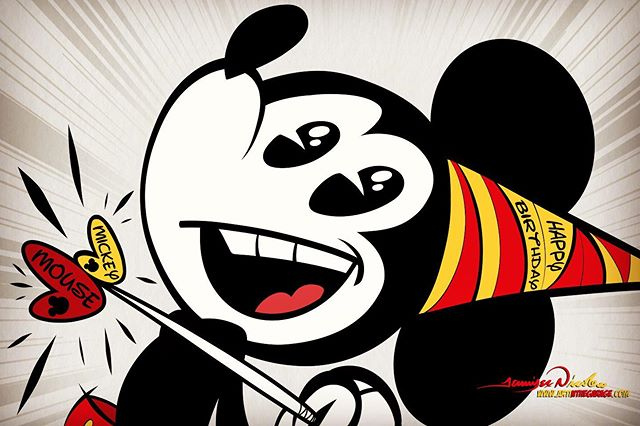 11-18-19 Happy Birthday Mickey Mouse