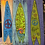 Thumbnail: Surf Board Folk Art