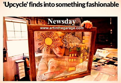 Jennifer Nicole Art In The Garage Newsday