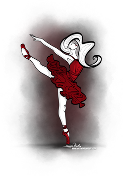 12-14-19 The Ballerina In Red
