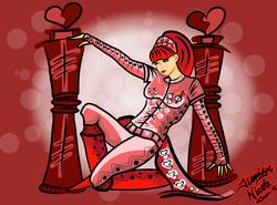 4-22-13 Queen of Hearts
