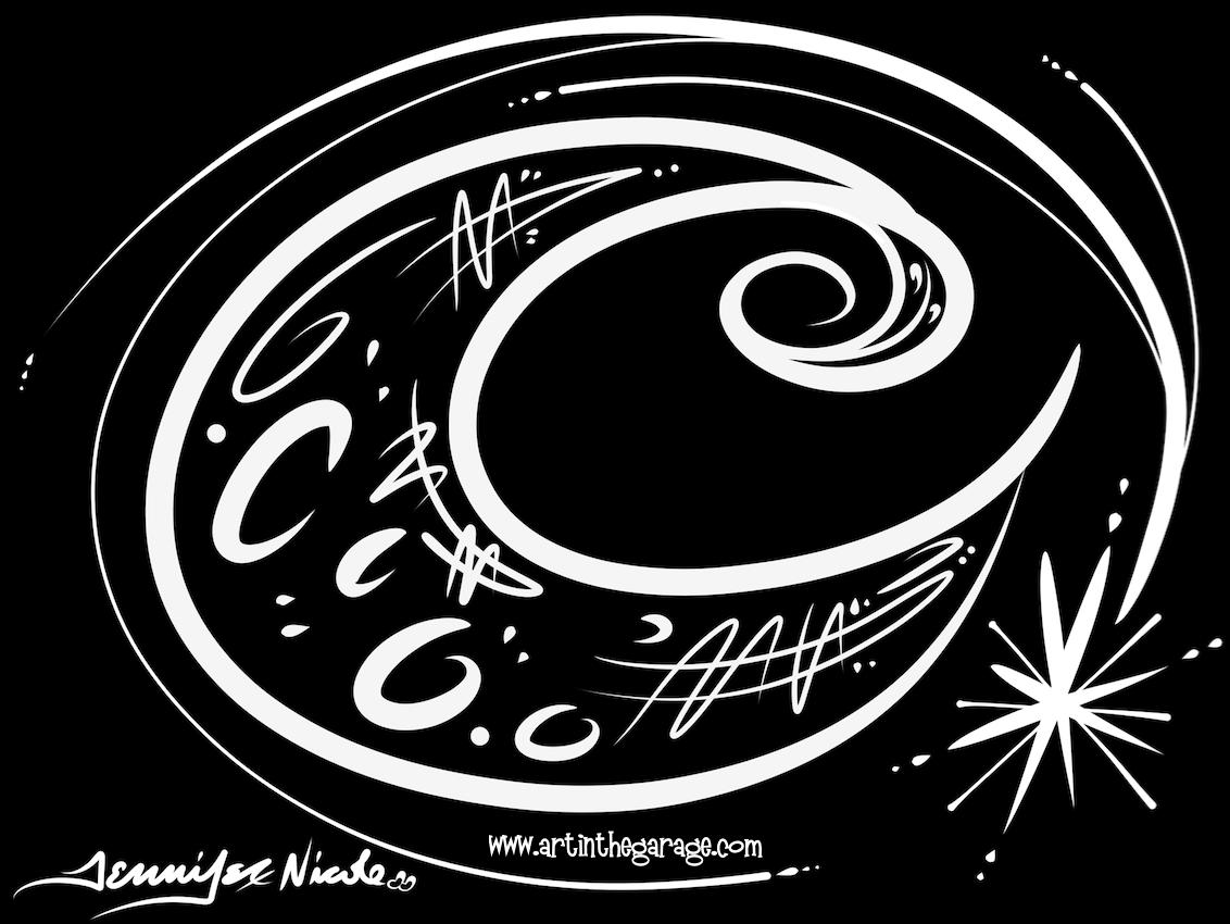 12-3-15 Black & White Moon