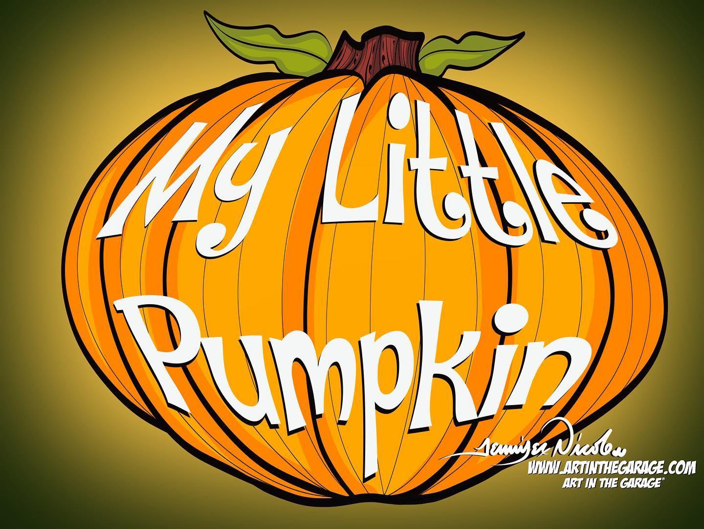 8-15-20 My Little Pumpkin
